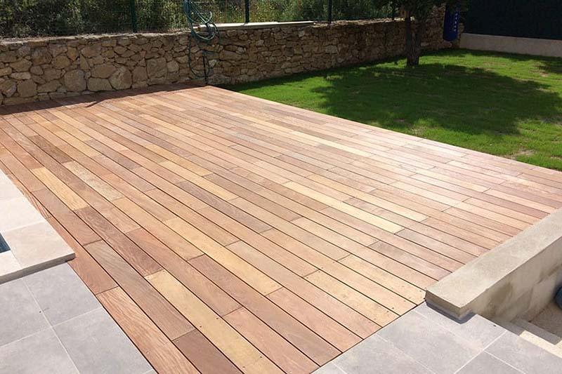 Création et pose de terrasse en bois IP LYON