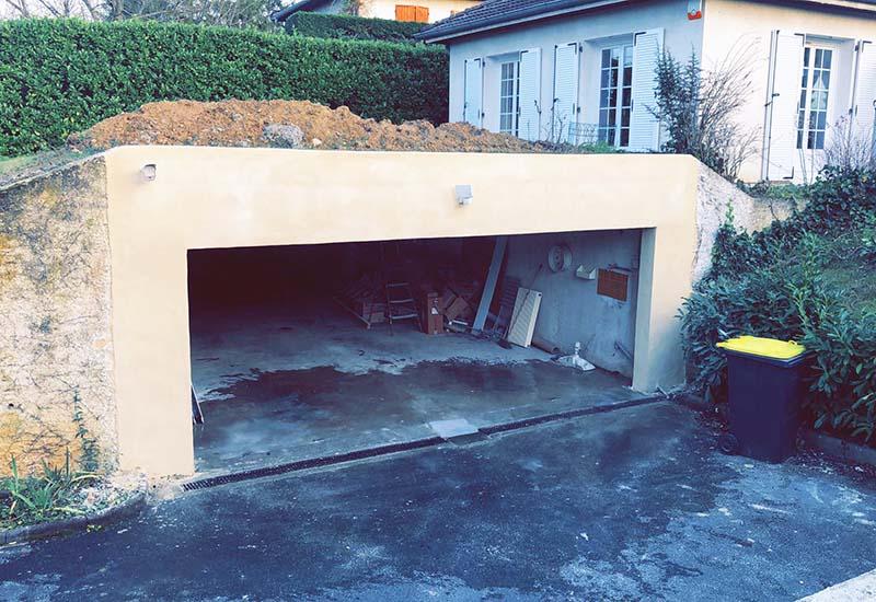 Extension de garage Lyon